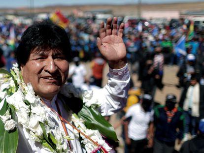 Evo Morales, expresidente de Bolivia, en noviembre pasado.