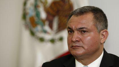 El exsecretario de Seguridad Genaro Garcia Luna, en una imagen de archivo.