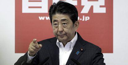 El primer ministro japonés, Shinzo Abe.