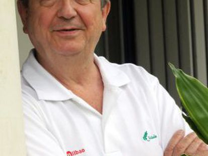 Iñaki Anasagasti, el pasado miércoles en Bakio.