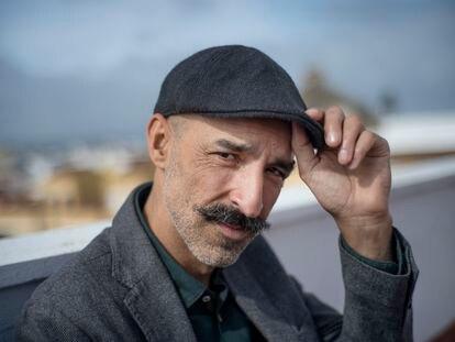 El escritor Jesús Carrasco, en Sevilla en febrero.