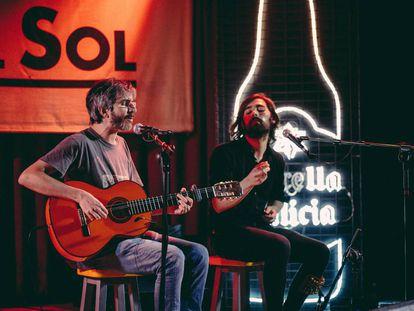 Vetusta Morla y Xoel López en el último programa de Oh! My LOL SON Estrella Galicia