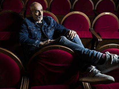 Alfredo Sanzol, fotografíado el pasado lunes en el Teatro Pavón Kamikaze.