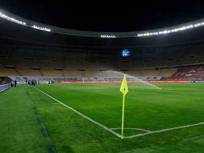 Estadio La Cartuja, en Sevilla.