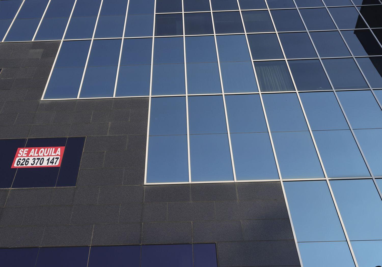Edificio de oficinas en alquiler, en una imagen del pasado 10 de julio.