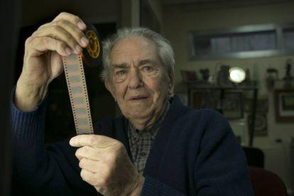Juan Mariné, el sábado en la Escuela de Cine de la Comunidad de Madrid.