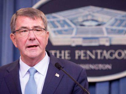 El secretario de Defensa, Ashton Carter.