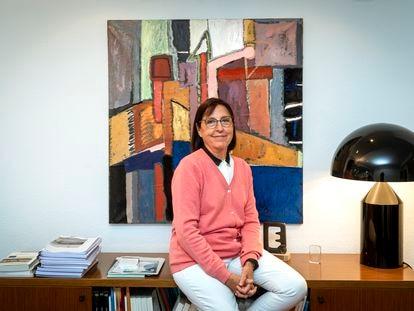 La economista Matilde Mas Ivars, en Valencia el 13 de octubre.