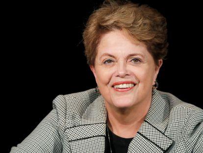 La expresidenta Dilma Rousseff, en un evento en París en marzo de este año. CHARLES PLATIAU / REUTERS