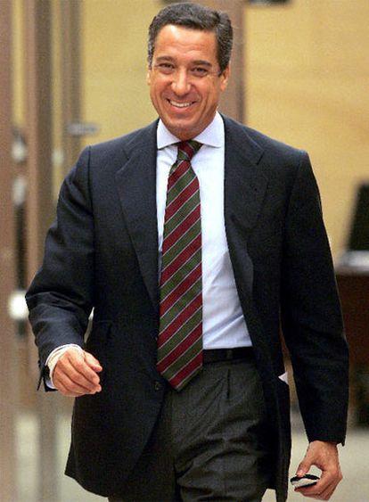 Eduardo Zaplana, ex diputado del PP.