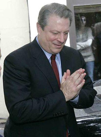 Al Gore, durante una conferencia en California (EE UU).