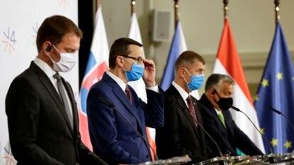 El grupo de Visegrado, o los chicos malos de la UE.