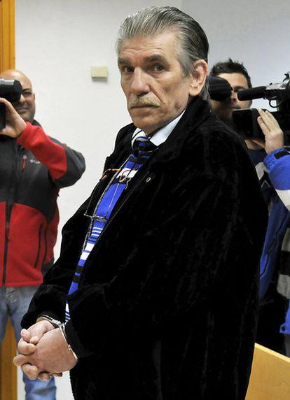 Francisco Miguel Montes Neiro, considerado el preso común que lleva más tiempo en prisión en España, en una foto de archivo el 17 de enero de 2011.