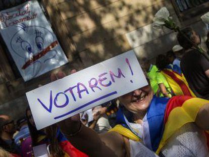 El presidente catalán quiere abrir un periodo transitorio tras la consulta del 1 de octubre