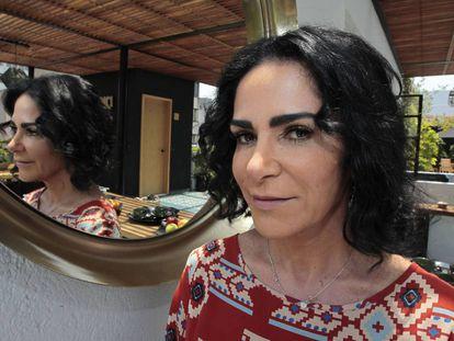 La periodista y escritora mexicana, Lydia Cacho.