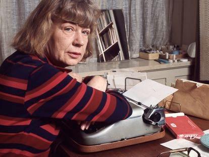 La escritora danesa Tove Ditlevsen, en una imagen de 1972, cuatro años antes de su suicidio.