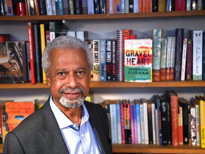Abdulrazak Gurnah, ganador del Nobel de Literatura, fotografiado este viernes en Londres.