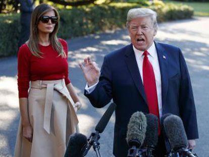 El presidente acude la cumbre de la OTAN tras sus continuas soflamas antieuropeas y contra la inmigración