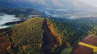 Zona volcánica de La Garrotxa.