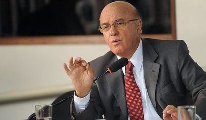 El presidente de Eletronuclear Othon Luiz Pinheiro.