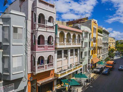 San Juan de Puerto Rico (en la imagen, una de sus calles) acoge el congreso del español.