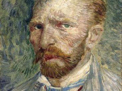 'Autorretrato' (1887), de Vincent Van Gogh.
