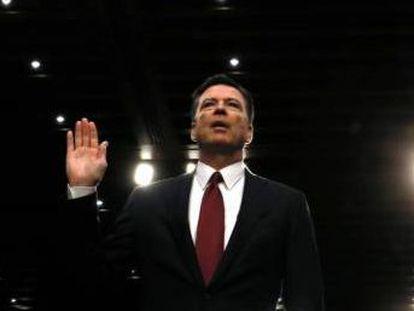 Empujó al primer ministro montenegrino, no soltó la mano a Macron, inventó hechos alternativos, intimidó al director del FBI, insultó por Twitter... el presidente de EEUU se define en cinco escenas