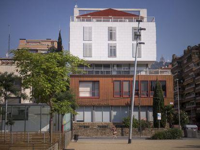 Sede del Colegio de Médicos de Barcelona.