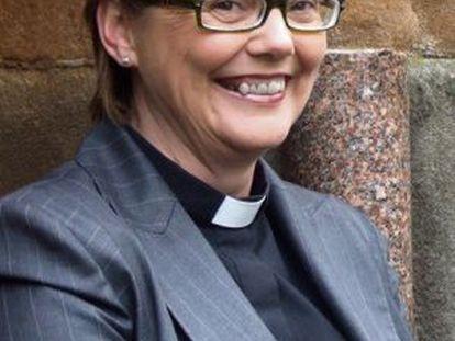 Pat Storey, primera mujer obispo de Irlanda.