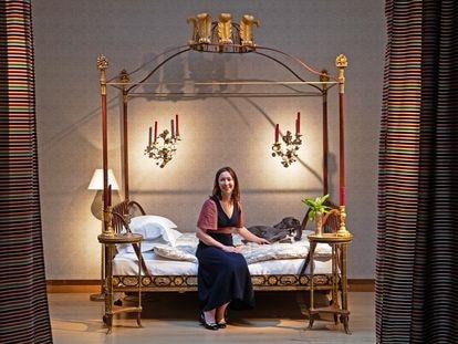 La interiorista Lulu Lytle, fundadora de la firma Soane Britain, fotografiada en Londres.
