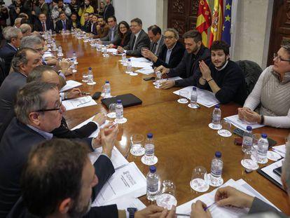 Puig ha presidido hoy la reunión de la comisión de seguimiento del nuevo sistema de financiación.