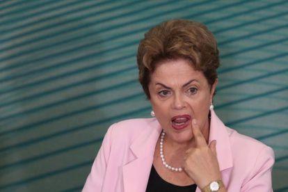 La presidenta Dilma Rousseff, el 27 de agosto en Brasilia.