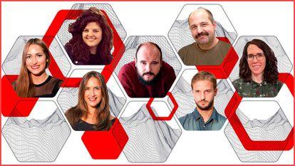 Algunos de los rostros de esta temporada en Radio 3.