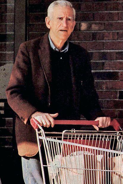 Una imagen de Salinger tomada en los ochenta.
