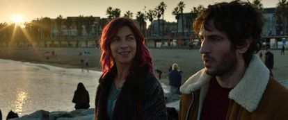 Natalia Tena y Quim Gutiérrez, en 'Te quiero, imbécil'.