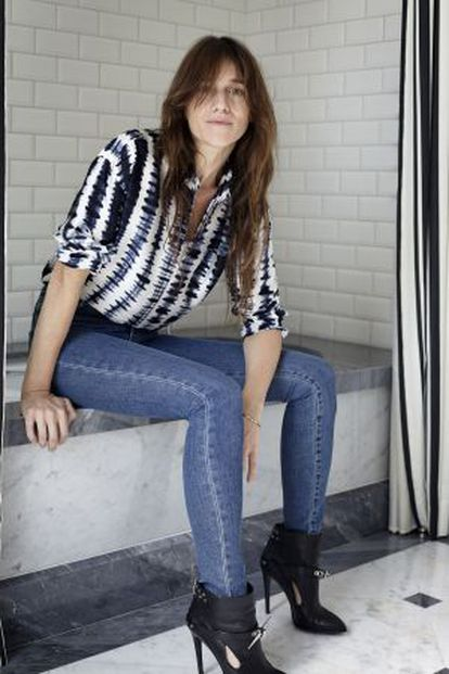 Charlotte Gainsbourg, en el certamen de San Sebastián.