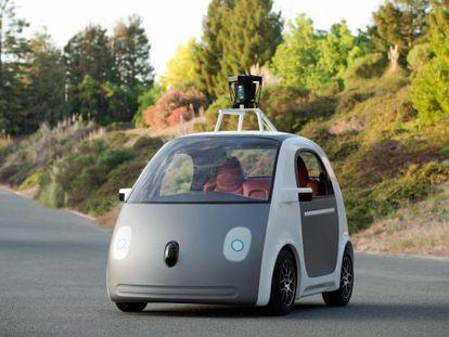 Prototipo de coche autónomo de Google.