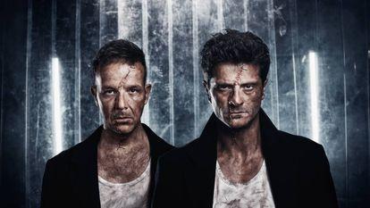 Àngel Llàcer (izquierda) y Joel Joan, en una imagen promocional de 'Frankestein'.