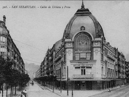 El Palacio Bellas Artes de San Sebastián recién construido.