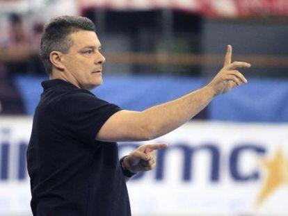 Xavi Pascual, entrenador del Barça de balonmano.