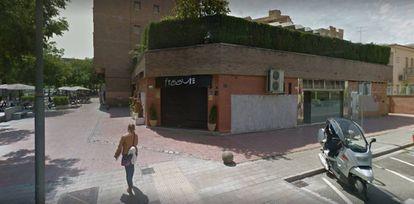 Exterior del pub de Lleida denunciada.