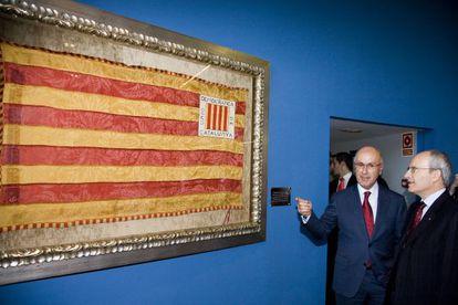 En 2008, Duran recibió a Montilla en la sede de Unió.