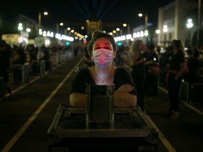 Manifestantes de Alerta Roja el pasado 17 de septiembre en Barcelona