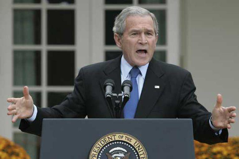 """Un 29 de enero, pero de 2002, George W. Bush usa por primera vez la expresión """"Eje del Mal"""""""