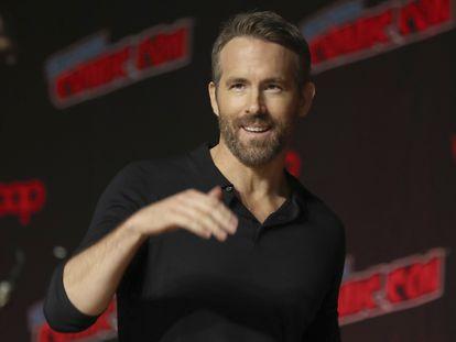 Ryan Reynolds, en un acto en Hollywood en octubre de 2019.