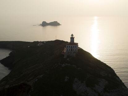 Faro de las islas Columbretes.