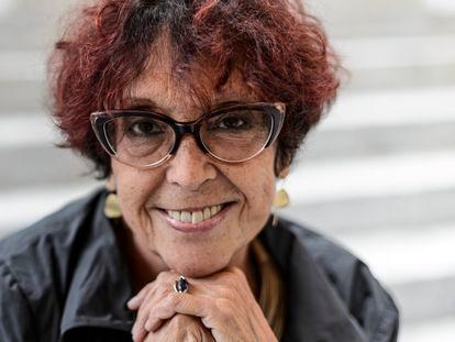Maruja Torres, en el festival de cine de San Sebastián de 2018.