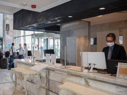 El Hotel Ciutat del Prat, del grupo Salles, ha permanecido abierto durante el confinamiento.