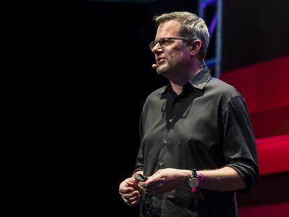 Chris Wysopal, cofundador de Veracode, durante su intervención en la conferencia RISE de 2018