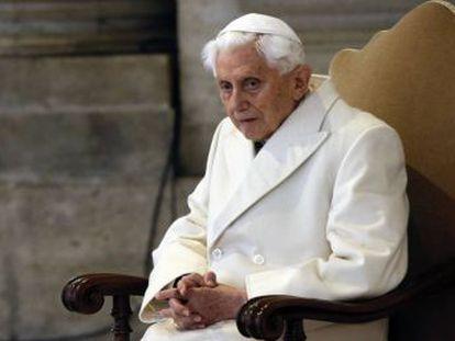 El Papa emérito escribe un documento de 18 páginas en el que asegura que en esa época  la pedofilia también se diagnosticó como permitida y apropiada